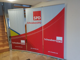 Begrüßung durch die Schwaben SPD
